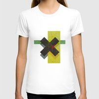 cross T-shirts featuring CROSS by Metron
