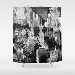 metal canal Shower Curtain