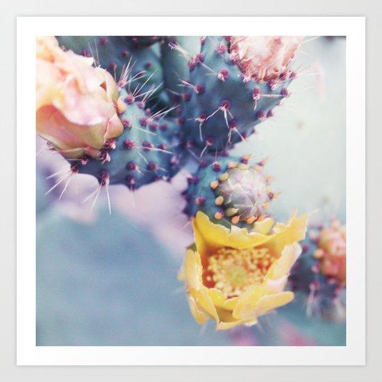 Cactus Royal Art Print