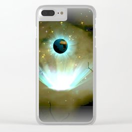As Seen From Space Clear iPhone Case