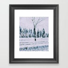 Mood: Winter Framed Art Print