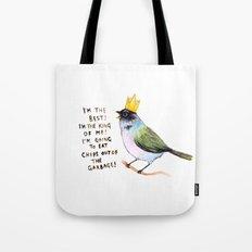 trash bird self affirmations Tote Bag