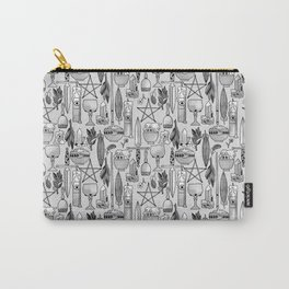 The Altar B&W Carry-All Pouch