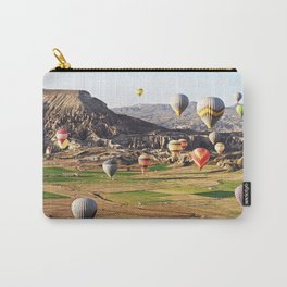 Hot air balloons flying over Cappadocia Carry-All Pouch