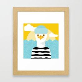 Jason Seagull Framed Art Print