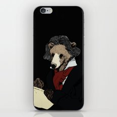 Bearthoven iPhone & iPod Skin