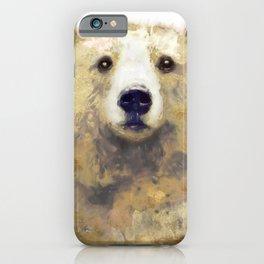 Golden Forest Bear iPhone Case