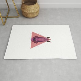 Geometric Unicorn Rug