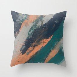 Acrylic Abstract 1 Throw Pillow