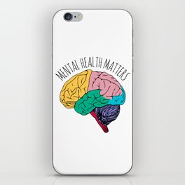 MENTAL HEALTH MATTERS iPhone Skin
