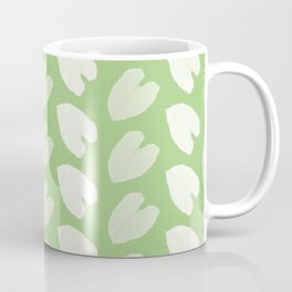 Elephant Ear Plant Leaf Pattern Coffee Mug