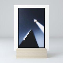 Alien abduction at Alexanderplatz Mini Art Print
