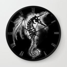 Pegasus of the Sea - inverted Wall Clock
