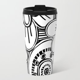 boho garden Travel Mug
