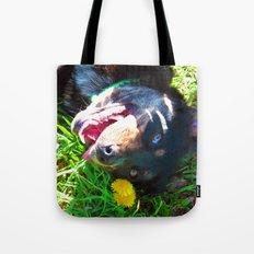 Dog Tanning Tote Bag