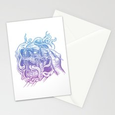 Painted Skull Stationery Cards
