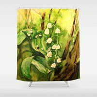 fairy tale Shower Curtains featuring Fairy tale by Lidia von Essen