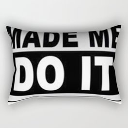 Carrie Fisher Made Me Do It Cool Retro Rectangular Pillow