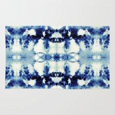 Tie Dye Blues Rug