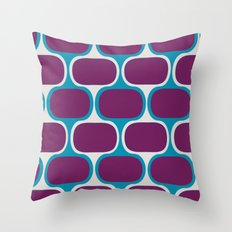 Swimcap Girl Throw Pillow