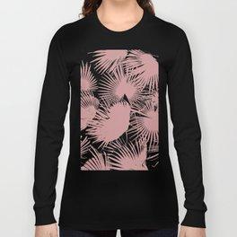 Pastel Palms #society6 #decor #buyart Long Sleeve T-shirt