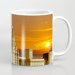 sunset over the graces Coffee Mug
