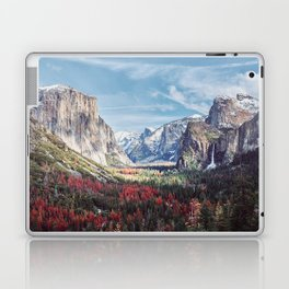 Tunnel View Yosemite Valley Laptop & iPad Skin