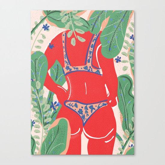 The Art Of Bikini Canvas Print
