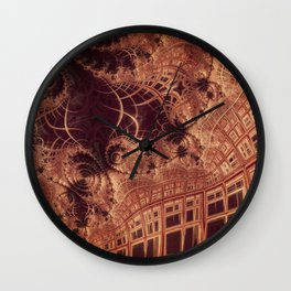 Doorway to the Third Dimension Wall Clock