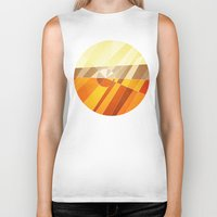 earth Biker Tanks featuring Earth by Anai Greog