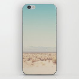 in the middle of the desert ... iPhone Skin