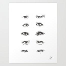 eye study Art Print