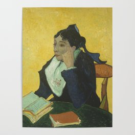 Portrait of Madame Ginoux Poster