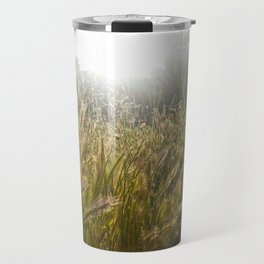 Wheat and poppies Travel Mug