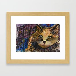 Cool Cat Framed Art Print