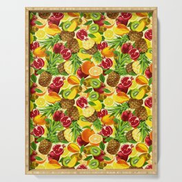 Tootie Fruity Serving Tray