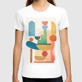 Modern Abstract Art 80 T-shirt