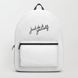 Just do it yourself   [black] Backpack