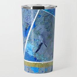 Track And Field Art Travel Mug