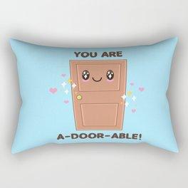 Wood You Be My Valentine? Rectangular Pillow