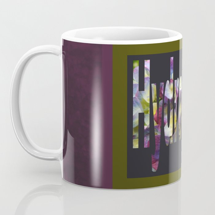 Hydrangea in Purple Coffee Mug