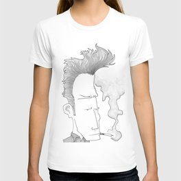 Big-haired Smoker #1 T-shirt