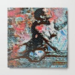 O: Walls Oppressive Metal Print