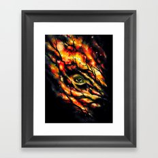Spy Framed Art Print