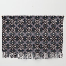 African Mud Cloth Inspired Pattern Wall Hanging