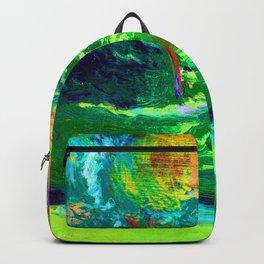 Jozef Mehoffer Strange Garden Backpack