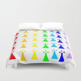 Hermine -Ermine-armino 13 Colorfull. Rainbow! Duvet Cover
