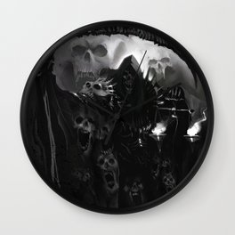 Death Necromancer Wall Clock