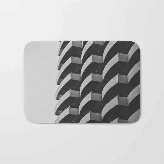 Fascinating Facade Bath Mat