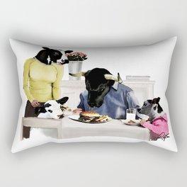 You Are Who You Eat! #2 Rectangular Pillow